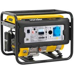 Gerador de Energia à Gasolina 4T 3,1kVA Partida Manual Bivolt