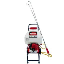 Pulverizador Costal TEBS16B a Gasolina 2T 26CC 25 Litros com 2 Lanças e Carrinho