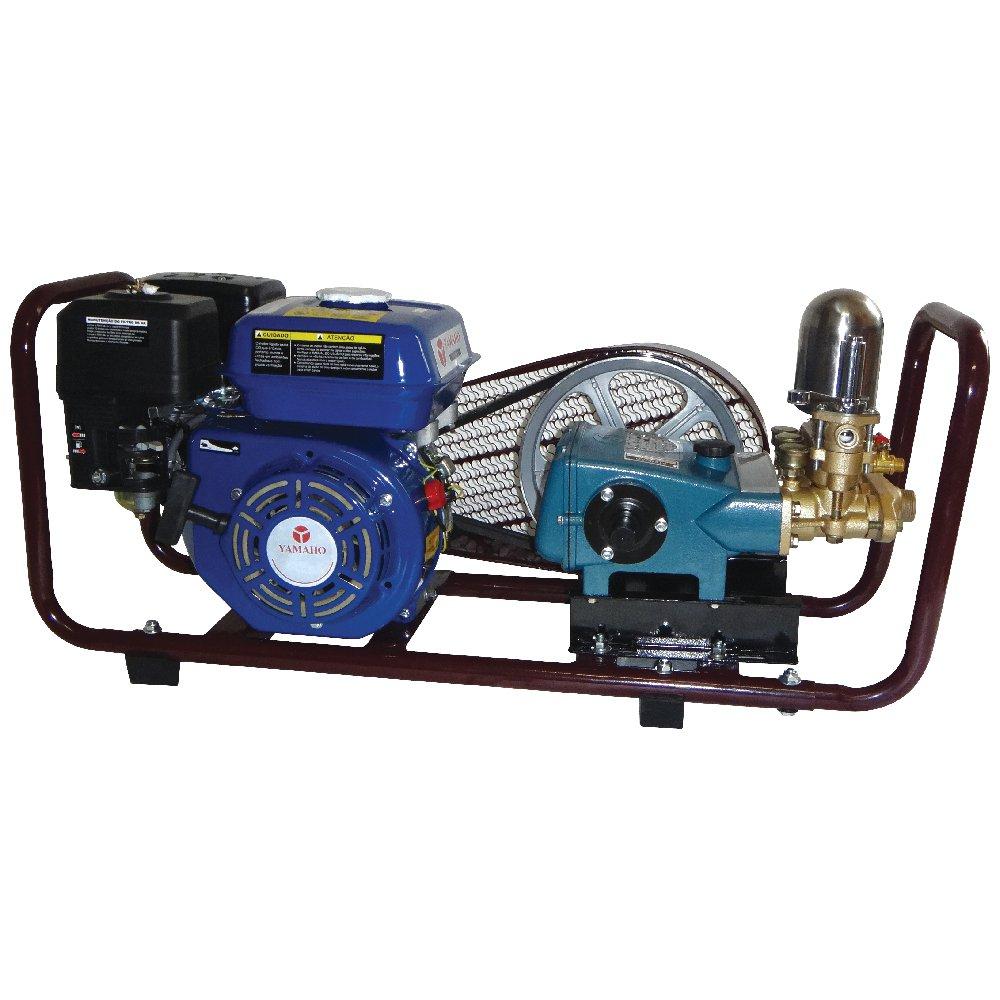 Conjunto Bomba Pulverizadora HS-30 + Motor à Gasolina 6,5Hp + Base