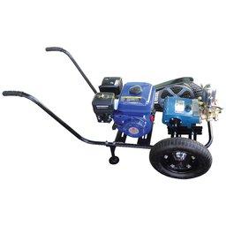 Conjunto Bomba Pulverizadora HS-40 + Motor à Gasolina 6,5Hp + Base com Rodas
