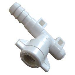 Conector Tipo L 3/8 Pol. com Fixador para Barra de Pulverização