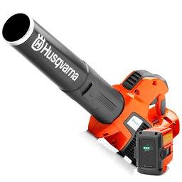 Kit Soprador de Folhas à Bateria de Lítio 36V Husqvarna 536LIB + Bateria Íons de Lítio BLi20 4,0Ah 36V
