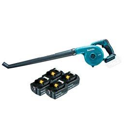 Soprador de Folhas 18V com 4 Baterias Lition 18V 5.0 Ah