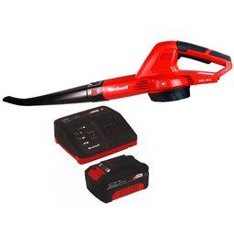 Kit Soprador de Folhas EINHELL-GE-CL18LI-SOLO 18V  + Kit Bateria 18V 4.0 com Carregador 18V EINHELL-4512106 Bivolt