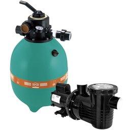 Filtro para Piscina + Bomba PF-17 1/2CV Mono 127/220/254V sem Areia