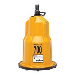 Bomba Submersa Vibratória para Reservatório e Cisterna 450W