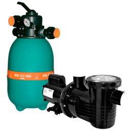 Filtro para Piscina DFR 12-14 com Bomba 1/3 CV Monofásica