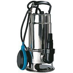 Bomba Sapo/Submersível para Águas Sujas em Inox 550W 110V