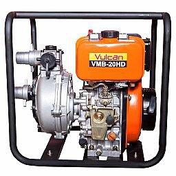 Motobomba de AIta Pressão 2 Pol. Diesel 4T 7HP Vazão 30000L/h
