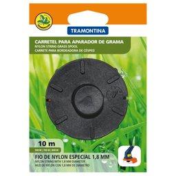 Carretel 2 fios de nylon 1,8 mm 10 m de comprimento para aparador de grama