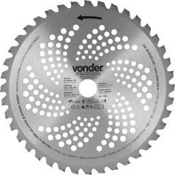 Lâmina Circular com Vídea para Roçadeiras 255 mm  x 254 mm  40 Dentes