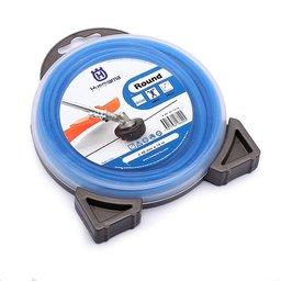 Fio de Nylon 2,4mm x 15m Azul para Roçadeiras