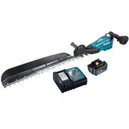 Aparador de Cerca Viva a Bateria 750mm com Carregador e Bateria 18V 5.0Ah