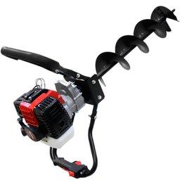 Perfurador de Solo á Gasolina 42,7cc com Trado de 15 cm