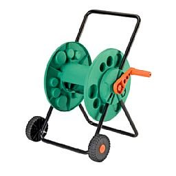 Enrolador de Mangueira com roda 1/2 pol.