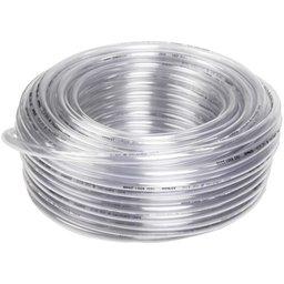 Rolo de Mangueira PVC Cristal 1/2 Pol. x 1mm 50 Metros