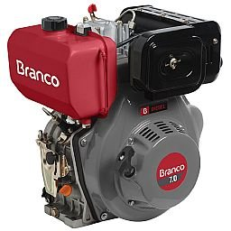 Motor a Diesel 7,0CV 296CC com Partida Elétrica