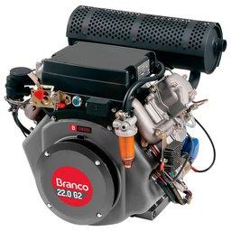 Motor à Diesel BD-22.0 870CC 22,0cv com Partida Elétrica