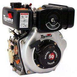 Motor a Diesel 4T 211CC 4,7HP Eixo Horizontal 3/4 Pol.
