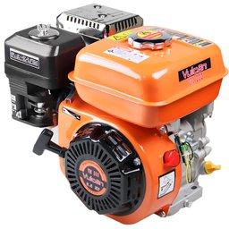 Motor Estacionário a Gasolina Eixo Horizontal 6,5HP 196cc