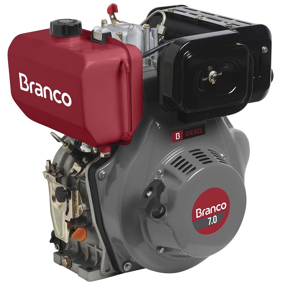 Motor à Diesel 296CC Partida Manual BD-7.0