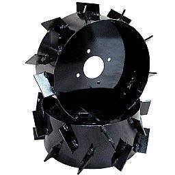 Conjunto de Rodas de Ferro Aro 8 Pol. para Motocultivadores