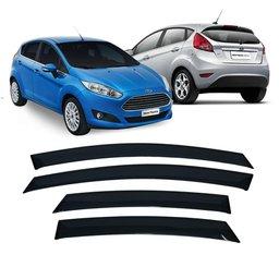 Calha de Chuva 4 Portas Ford New Fiesta Hatch 2011 até 2018