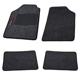 Jogo de Tapetes Carpete Toyota Universal Grafite com 4 Peças
