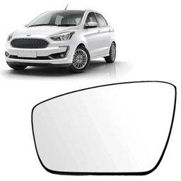 Vidro com Base do Espelho Retrovisor Lado Esquerdo Original Ford Ka 2014 até 2020