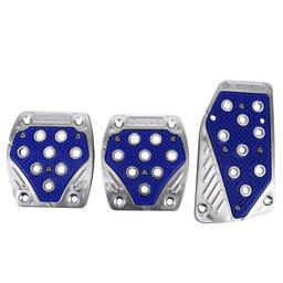 Conjunto de Pedaleira Tunning Azul