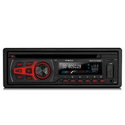 Som Automotivo Disco com CD Player e Bluetooth