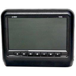 Tela Encosto de Cabeça Acoplável 9 Pol. com Leitor DVD USB SD e Função Game Preto