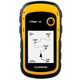 GPS eTrex 10 Amarelo com Visor  Transflectivo e Monocromático