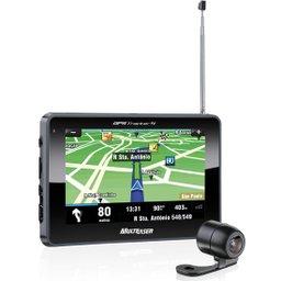 GPS Tracker Touchscreen 4.3 Pol. com TV Digital e Câmera