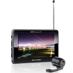 GPS Tracker Touchscreen 5.0 Pol. com TV Digital e Câmera de Ré