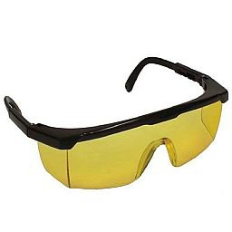 Óculos de Proteção Fênix Anti-risco Amarelo