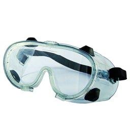 Óculos de Proteção de Ampla Visão Incolor com Válvula