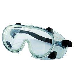 Óculos de Proteção de Ampla Visão Incolor com Válvula e Anti-Embaçante