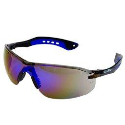 Óculos de Proteção Jamaica Azul Espelhado com Filtro UVA, UVB