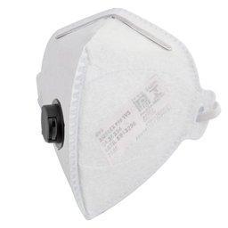 Respirador PFF1 Dobrável Semi-Facial sem Carvão Ativado com Válvula