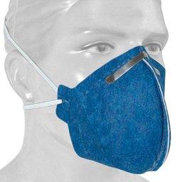 Respirador Descartável PFF2 Contra Poeira, Névoas e Fumos sem Válvula