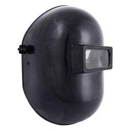 Máscara de Solda em Celeron com Visor Fixo 51 x 108mm e Carneira com Catraca