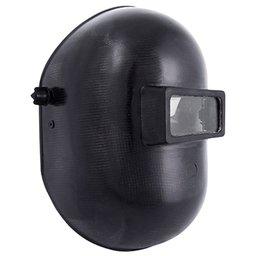 Máscara de Solda em Celeron com Visor Articulado 51 x 108 mm e Carneira Simples