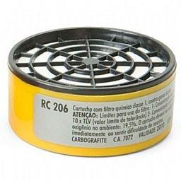 Cartucho Filtro RC 206 para Máscaras Semifacial CG 306