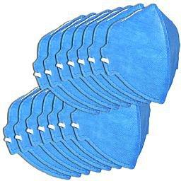 Respirador Semi-Facial PFF1 Dobrável sem Válvula
