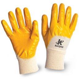 Luva de Segurança Nitrili-Ka20 Amarela Tamanho XG