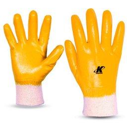 Luva de Segurança Nitrili-Ka25 Amarela Tamanho P