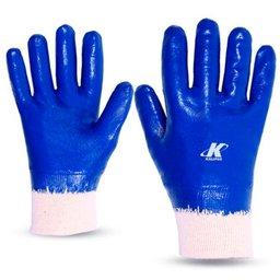 Luva de Segurança Nitrili-Ka30 Azul Tamanho XG