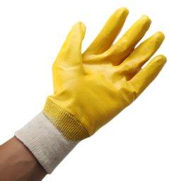 Luva Látex Nitrílico Amarelo