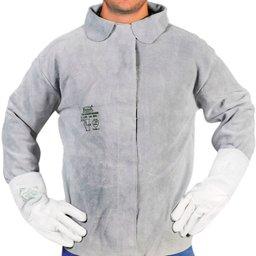 Camisa de Segurança tipo Blusão para Soldador Tamanho G